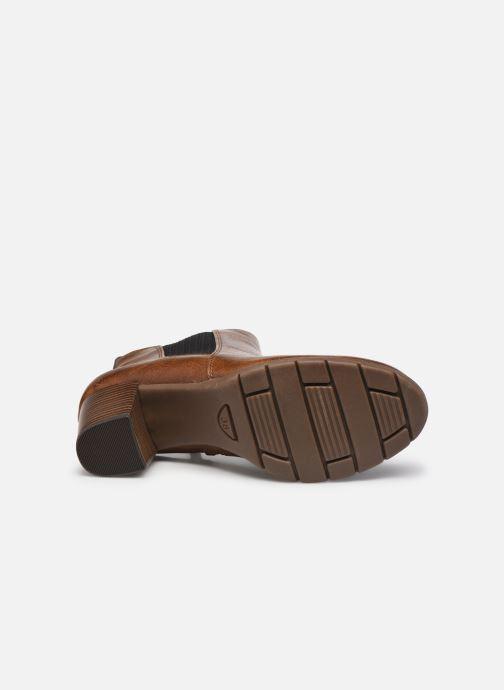 Stiefeletten & Boots Marco Tozzi Yukila braun ansicht von oben