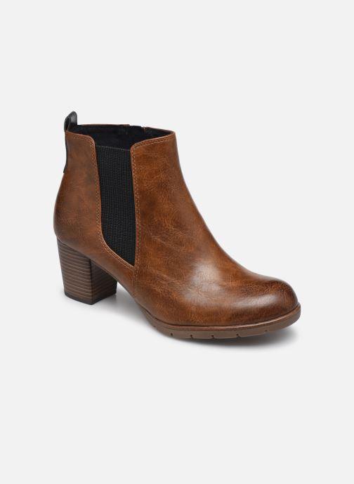 Bottines et boots Marco Tozzi Yukila Marron vue détail/paire