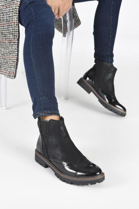 Bottines et boots Marco Tozzi Machu Noir vue bas / vue portée sac
