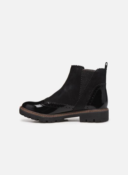 Bottines et boots Marco Tozzi Machu Noir vue face