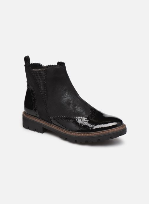 Bottines et boots Marco Tozzi Machu Noir vue détail/paire