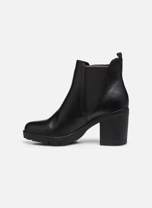 Boots en enkellaarsjes Marco Tozzi Mado Zwart voorkant