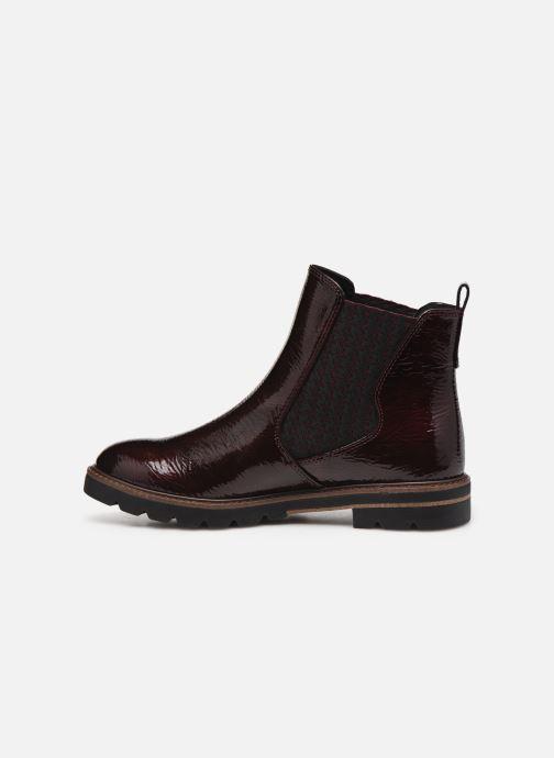 Bottines et boots Marco Tozzi Mutys Bordeaux vue face