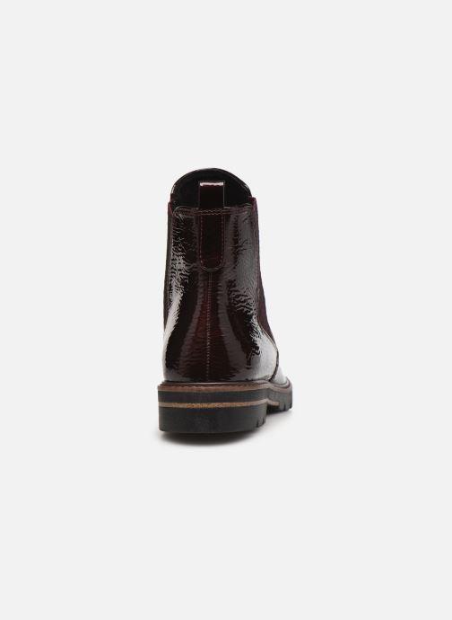 Bottines et boots Marco Tozzi Mutys Bordeaux vue droite