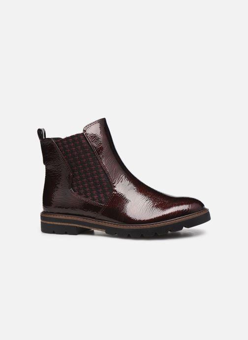 Bottines et boots Marco Tozzi Mutys Bordeaux vue derrière