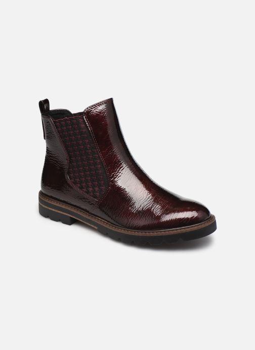Bottines et boots Marco Tozzi Mutys Bordeaux vue détail/paire