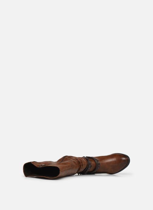 Stiefel Marco Tozzi Elzey braun ansicht von links