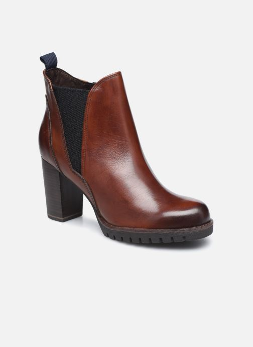 Bottines et boots Marco Tozzi Carol Marron vue détail/paire