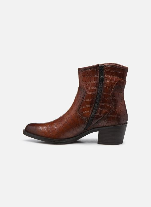 Boots en enkellaarsjes Marco Tozzi Dalila Bruin voorkant