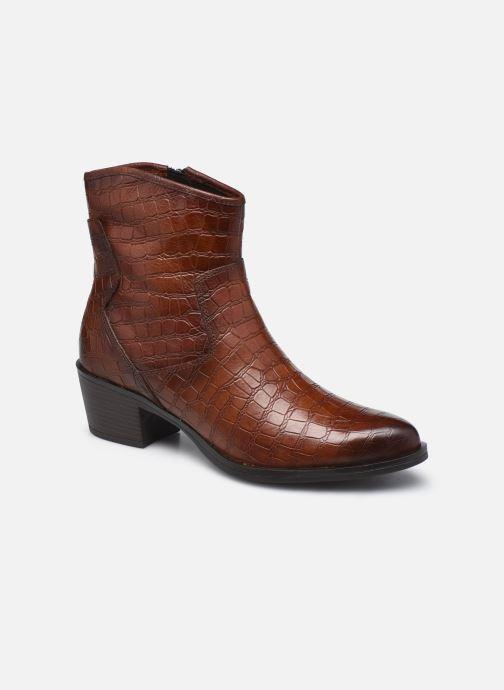 Boots en enkellaarsjes Marco Tozzi Dalila Bruin detail