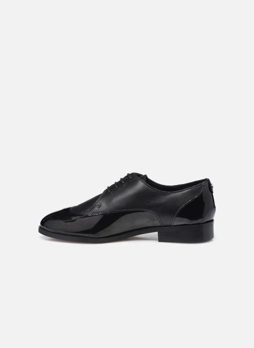 Zapatos con cordones COSMOPARIS VAVILY Negro vista de frente