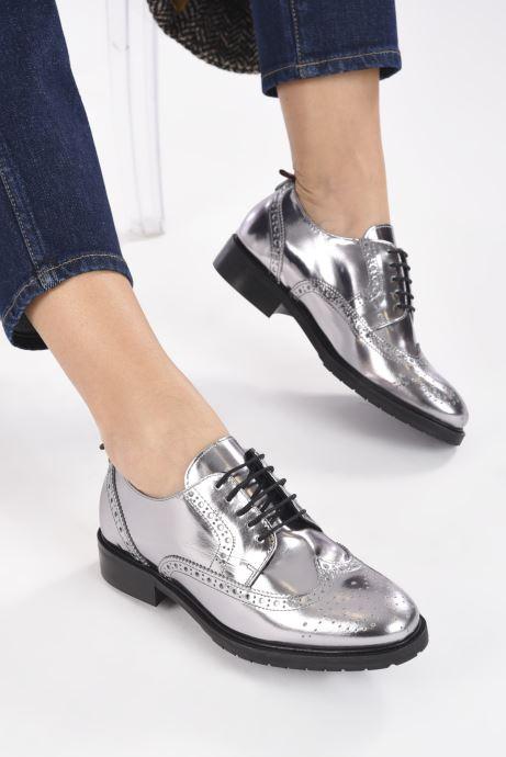 Zapatos con cordones COSMOPARIS VOTEL Plateado vista de abajo