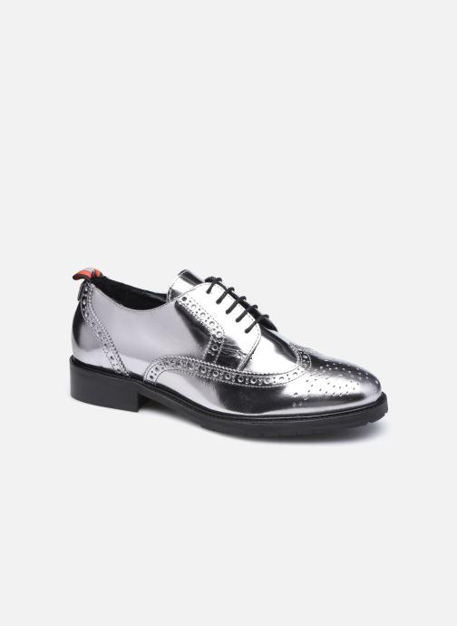 Zapatos con cordones COSMOPARIS VOTEL Plateado vista de detalle / par