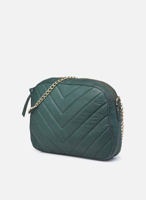 Handtaschen Pieces ROSITA LEATHER CROSSBODY grün schuhe getragen