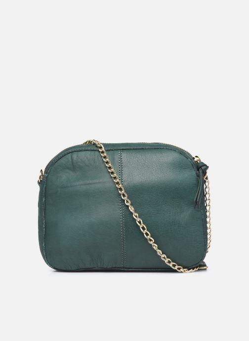 Handtaschen Pieces ROSITA LEATHER CROSSBODY grün ansicht von vorne