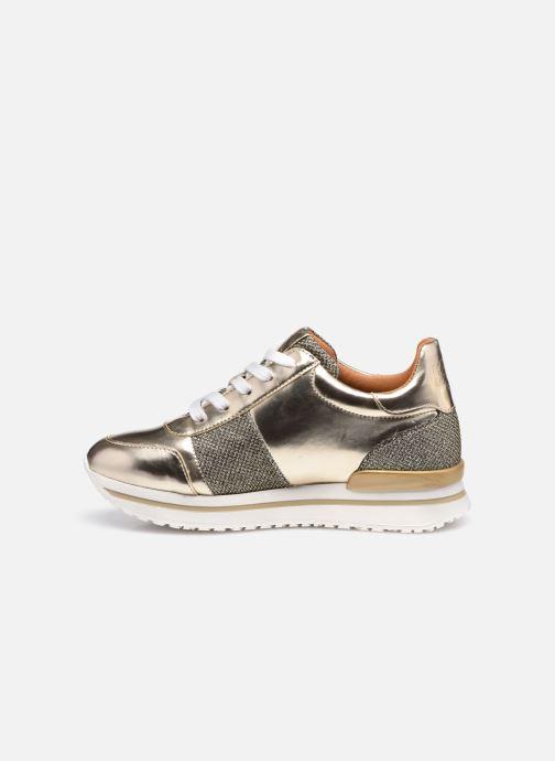 Sneaker Karl Lagerfeld Z19042 gold/bronze ansicht von vorne
