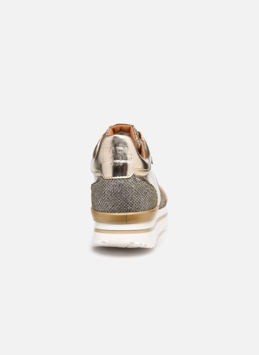 Sneaker Karl Lagerfeld Z19042 gold/bronze ansicht von rechts