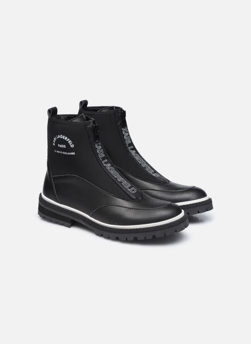 Boots en enkellaarsjes Karl Lagerfeld Z19045 Zwart 3/4'
