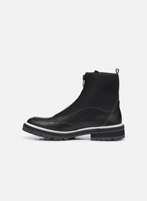 Boots en enkellaarsjes Karl Lagerfeld Z19045 Zwart voorkant