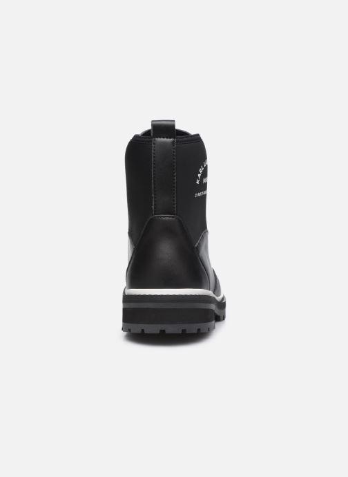 Boots en enkellaarsjes Karl Lagerfeld Z19045 Zwart rechts