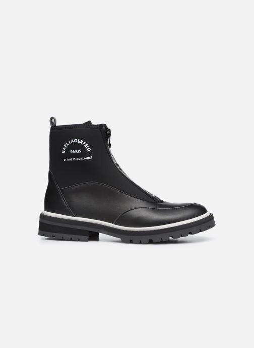 Boots en enkellaarsjes Karl Lagerfeld Z19045 Zwart achterkant