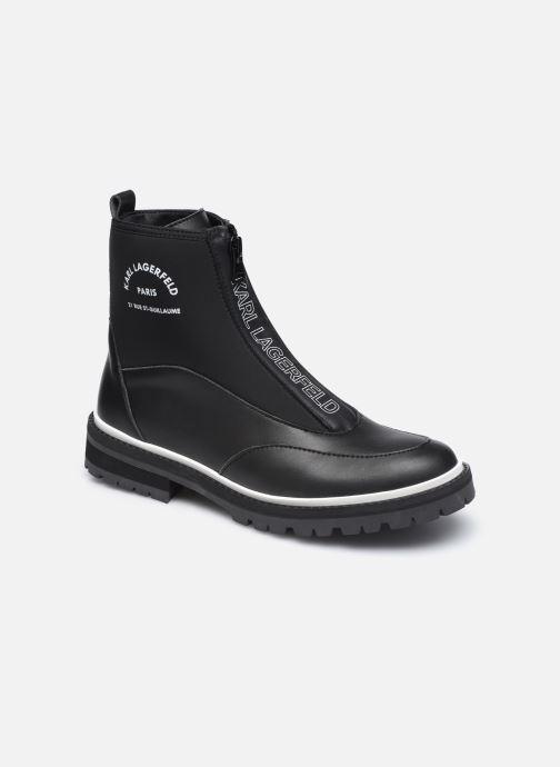Botines  Karl Lagerfeld Z19045 Negro vista de detalle / par