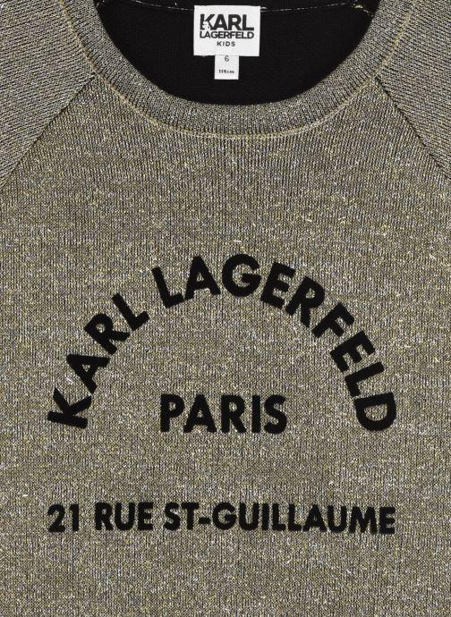 Vêtements Karl Lagerfeld Z12166 Or et bronze vue face