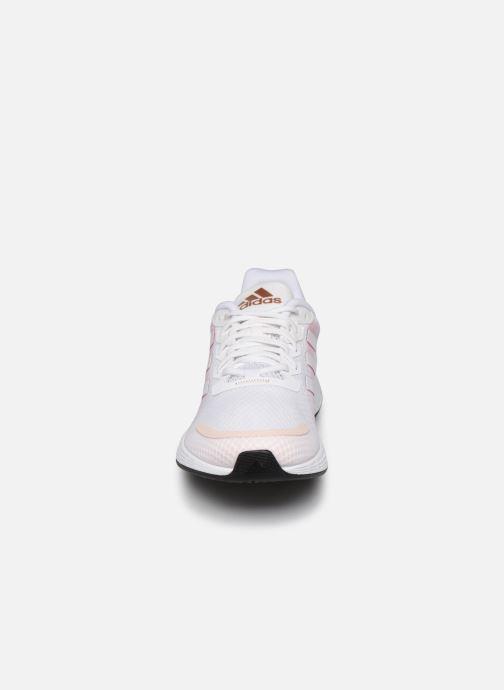 Chaussures de sport adidas performance Duramo Sl Blanc vue portées chaussures