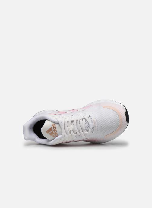 Chaussures de sport adidas performance Duramo Sl Blanc vue gauche