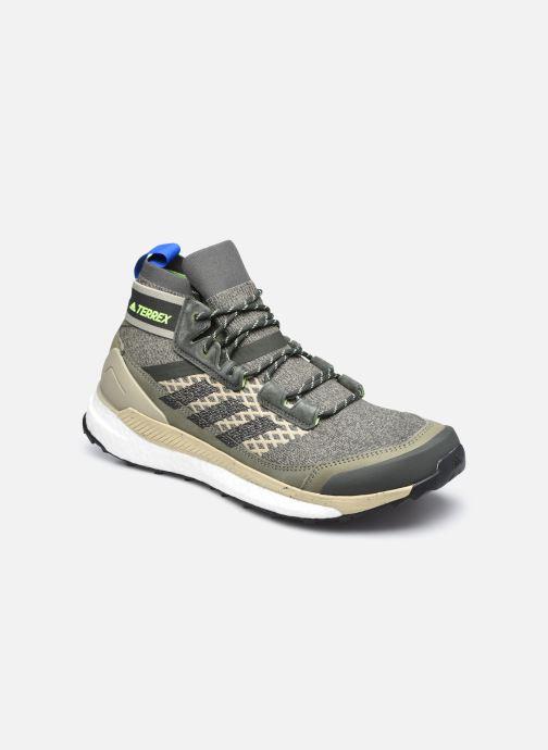 Chaussures de sport adidas performance Terrex Free Hiker B Vert vue détail/paire