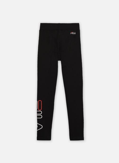 Vêtements FILA SABINA logo leggings Noir vue portées chaussures