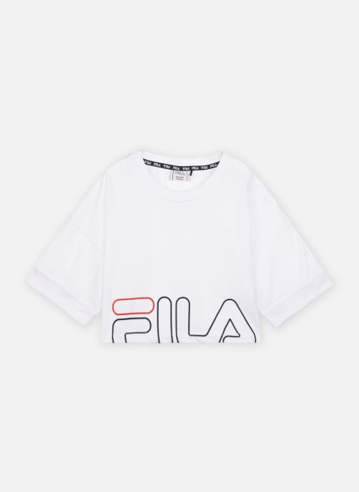 Vêtements FILA LEONARDA wide tee Blanc vue détail/paire
