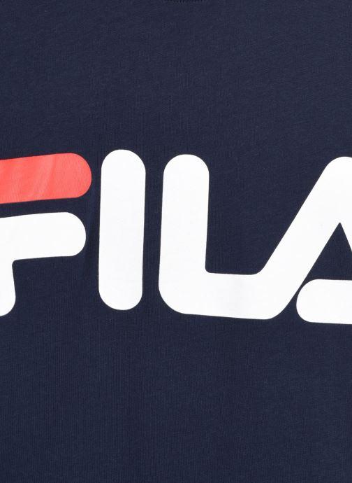 Vêtements FILA GAIA classic logo tee Bleu vue face