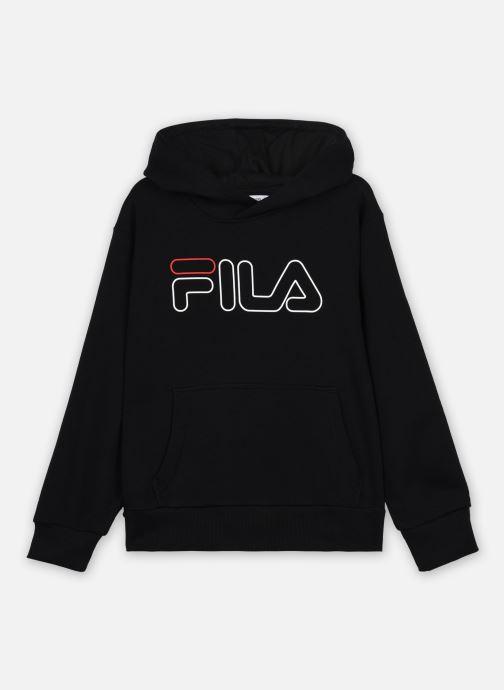 Vêtements FILA LEO hoody Noir vue détail/paire