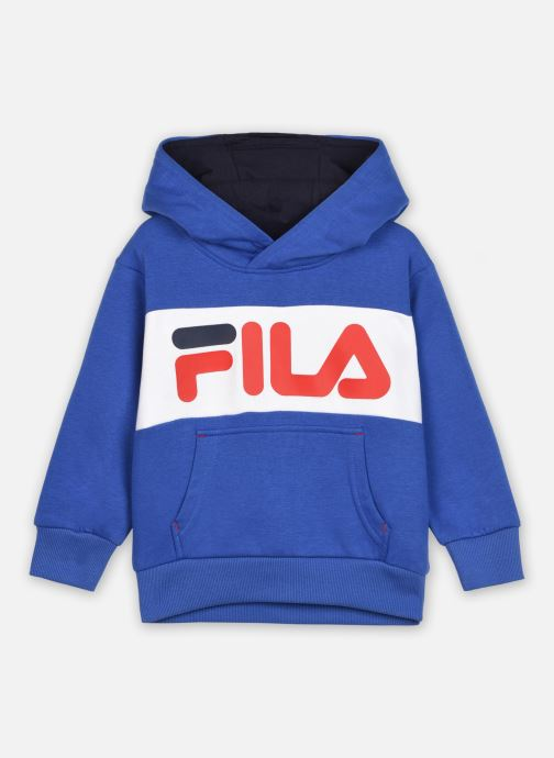 Vêtements FILA BEN logo hoody Bleu vue détail/paire