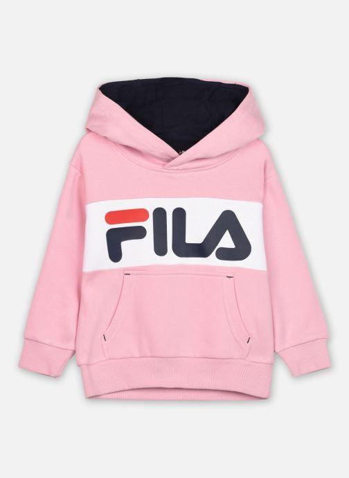 Vêtements FILA BEN logo hoody Rose vue détail/paire