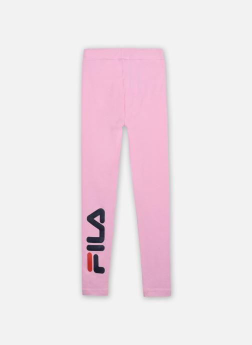 Vêtements FILA TIFFY logo leggings Rose vue portées chaussures