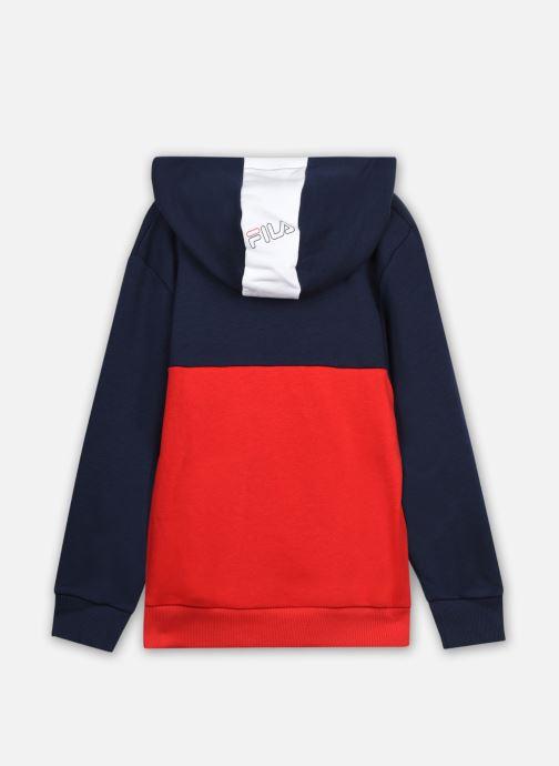 Vêtements FILA SIMONE hoody Rouge vue portées chaussures