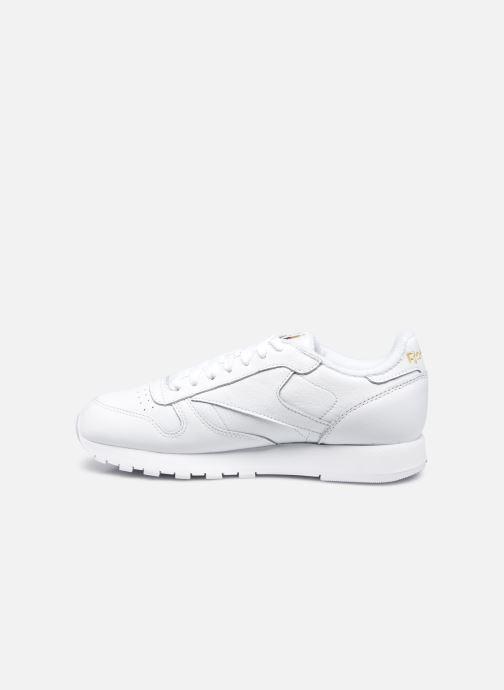 Sneakers Reebok Cl Leather Mu W Bianco immagine frontale