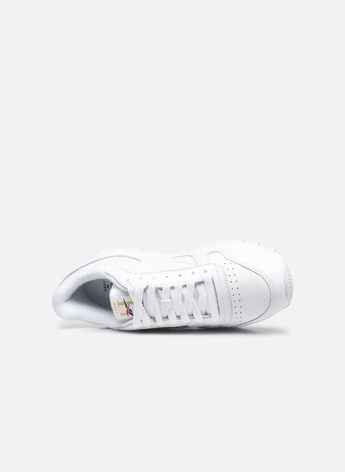 Sneakers Reebok Cl Leather Mu W Bianco immagine sinistra
