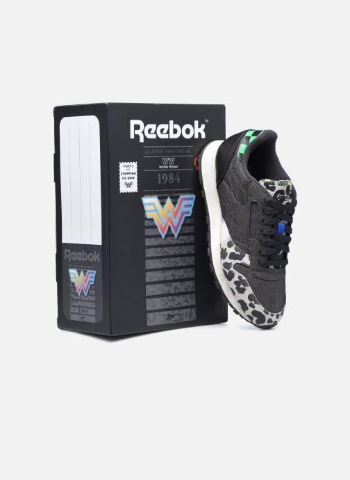 Deportivas Reebok Cl Leather Mu W Negro vista 3/4