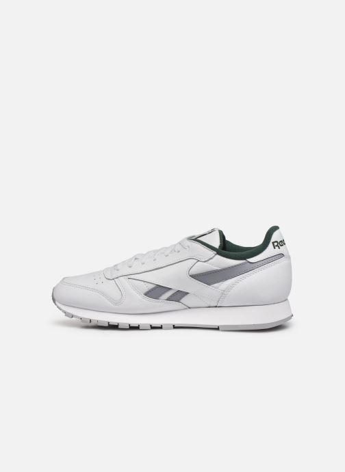 Sneakers Reebok Cl Lthr M Bianco immagine frontale