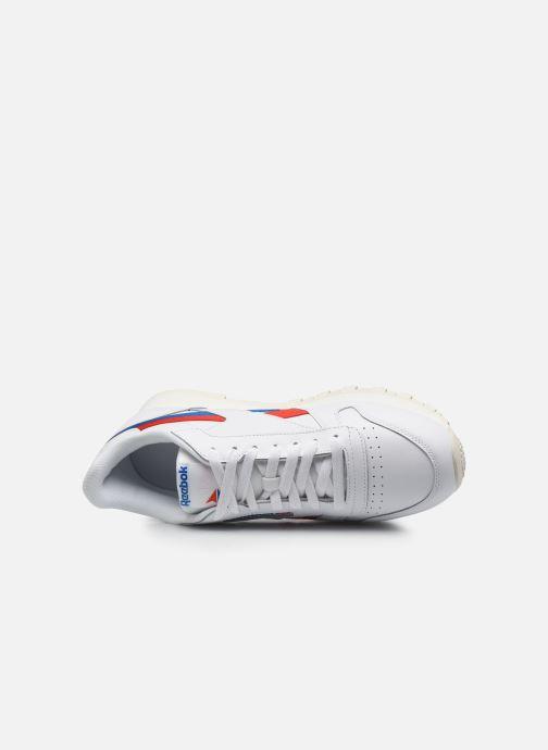Sneakers Reebok Cl Lthr M Bianco immagine sinistra