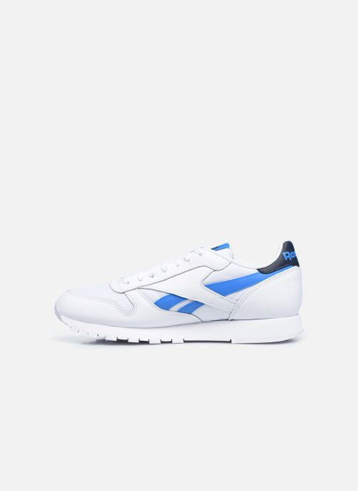 Sneakers Reebok Cl Lthr M Bianco immagine frontale