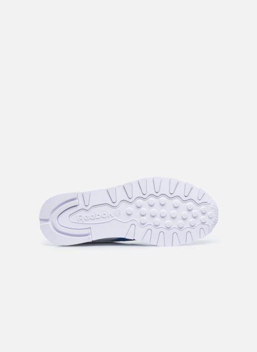 Sneakers Reebok Cl Lthr M Bianco immagine dall'alto