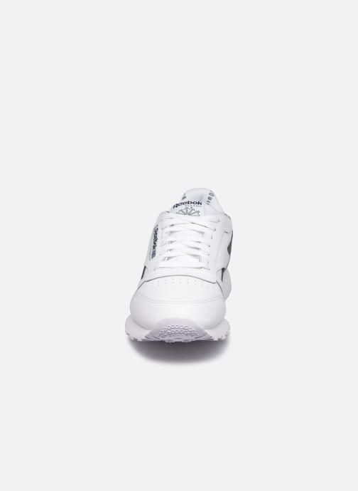 Sneakers Reebok Cl Lthr M Bianco modello indossato