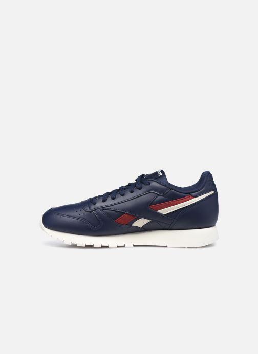 Sneaker Reebok Cl Lthr M blau ansicht von vorne