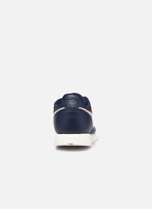 Sneaker Reebok Cl Lthr M blau ansicht von rechts