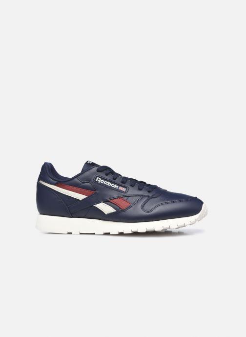 Sneaker Reebok Cl Lthr M blau ansicht von hinten