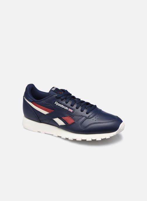 Sneaker Reebok Cl Lthr M blau detaillierte ansicht/modell
